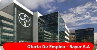 Oferta de empleo Bayer