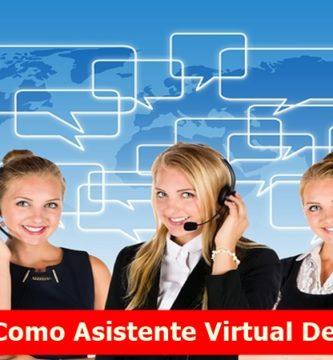 Trabajo Como Asistente Virtual Desde Casa