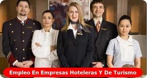 Empleo en Hoteleria y Turismo