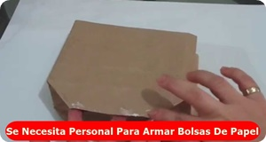 Personal para armar bolsas