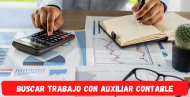 Buscar trabajo como auxiliar contable