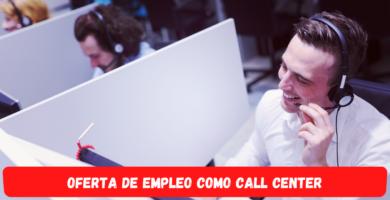 Empleo como Call Center